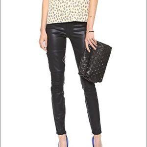 Paige Moto Demi Ultra Skinny Jeans